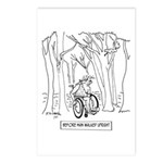 Before Man Walked Upright Postcards (Package of 8)