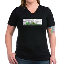 The Reckoning Women's V-Neck Dark T-Shirt