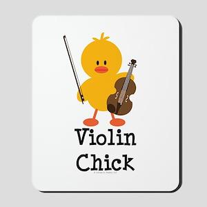 Violin Chick Mousepad