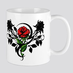 Rose tattoo Mug