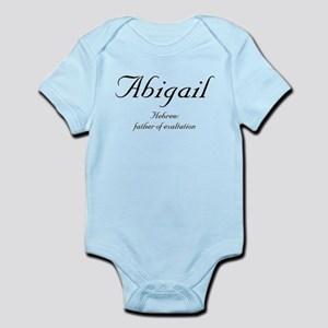 Abigail Meaning Infant Bodysuit