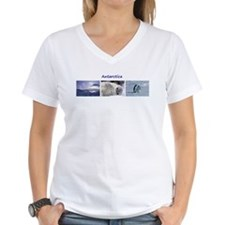 3 Antarctic Pictures - Set 1 Women's V-Neck T-Shir