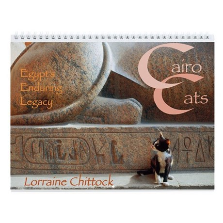 Cairo Cats - Egypt's Enduring Legacy Wall Cale
