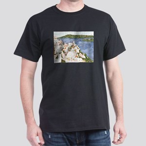 Santorini, Greek Island I Dark T-Shirt