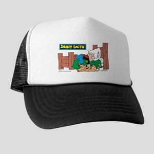Snuffy Sleeping Trucker Hat