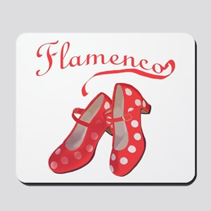 Red Flamenco Shoes Mousepad