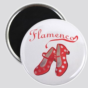 "Red Flamenco Shoes 2.25"" Magnet (10 pack)"