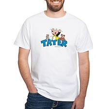 Tater White T-Shirt