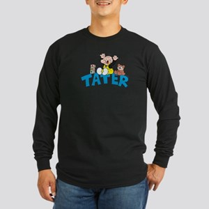 Tater Long Sleeve Dark T-Shirt