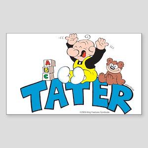 Tater Rectangle Sticker