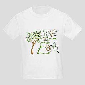 Love the Earth Kids Light T-Shirt