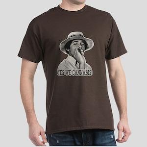 Yes We Cannabis Dark T-Shirt