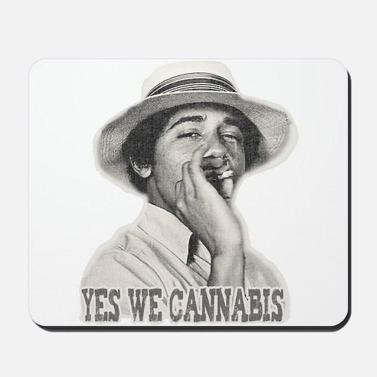 Yes We Cannabis Mousepad