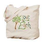 Love the Earth Reusable Tote Bag