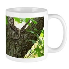 Brown Wood Dragon Mug