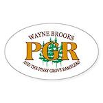 Stick to the PGR Oval Sticker