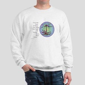 BRIGHT DRAGONFLY SPIRIT Sweatshirt