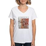 Kakadu Women's V-Neck T-Shirt