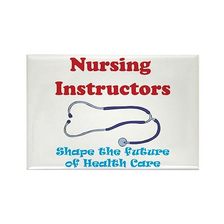 Nursing Instructors Rectangle Magnet (100 pack)