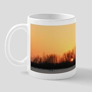 Winter Sunset 0208 Mug
