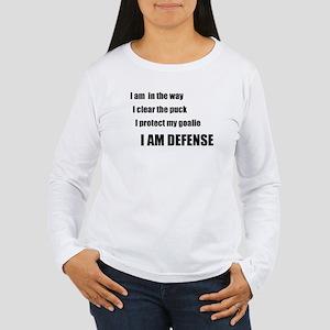 Defense Women's Long Sleeve T-Shirt
