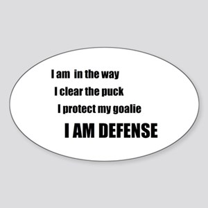 Defense Oval Sticker