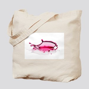 NEW - Red Water Drop Tote Bag