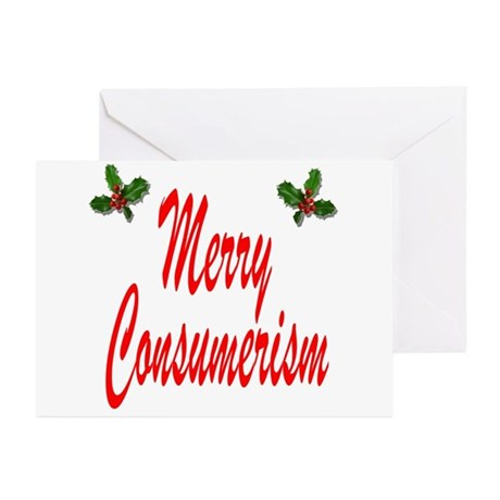 Merry Consumerism Greeting Cards (Pk of 20)