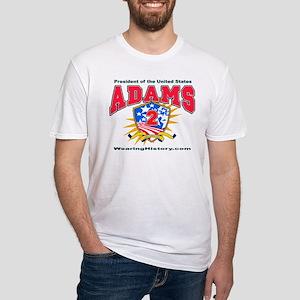 John Adams Fitted T-Shirt