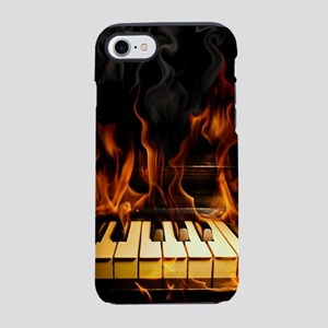 Burning Piano iPhone 7 Tough Case