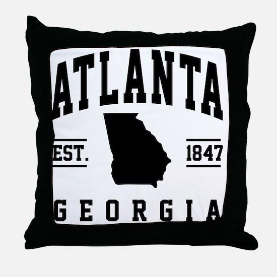 Unique Atlanta Throw Pillow