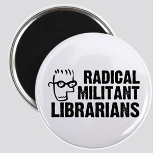 radical militant librarians - stacked Magnets
