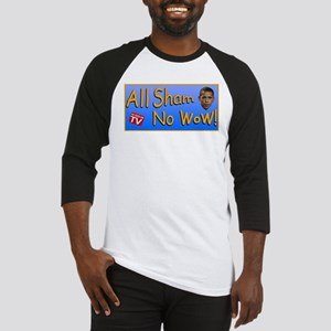 All Sham No Wow Baseball Jersey