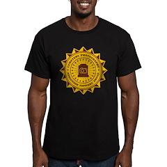 Cemetery Photo Addict Men's Fitted T-Shirt (dark)