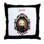 New Moon Volturi Jane Throw Pillow