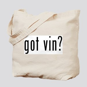 got vin? Tote Bag