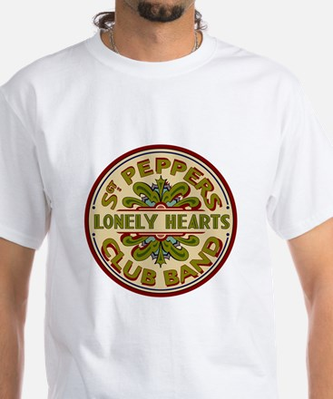 Lonely Hearts Club White T-Shirt