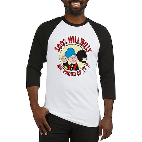 Hillbilly An' Proud! Baseball Jersey