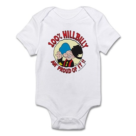 Hillbilly An' Proud! Infant Bodysuit