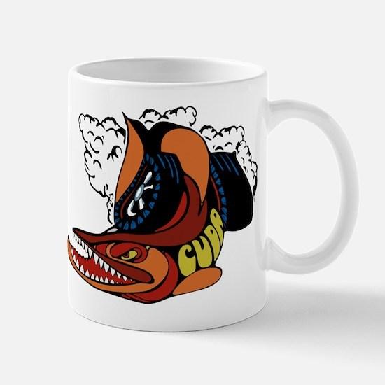 Vintage Cuda Fish Mug