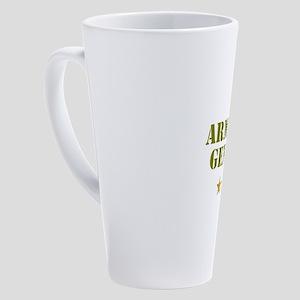 ARMCHAIR GENERAL 4 STAR 17 oz Latte Mug