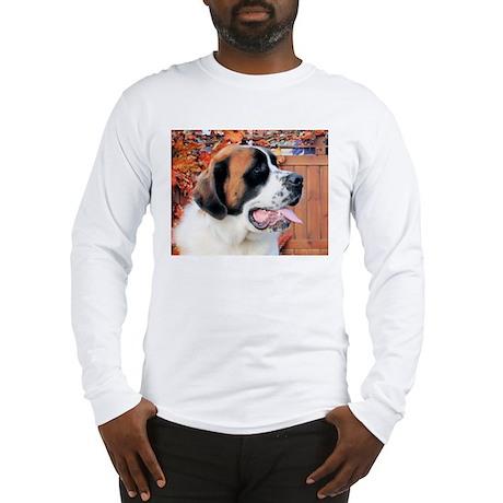 Mae Saint Bernard Photo-6 Long Sleeve T-Shirt