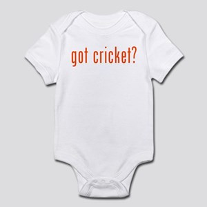 got cricket? Infant Bodysuit
