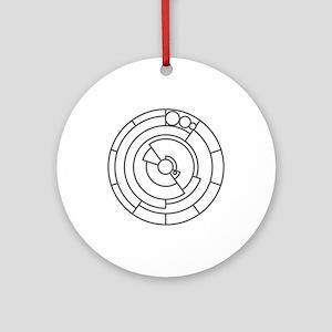 Pi Ornament (Round)