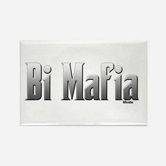 Bi Mafia Rectangle Magnet