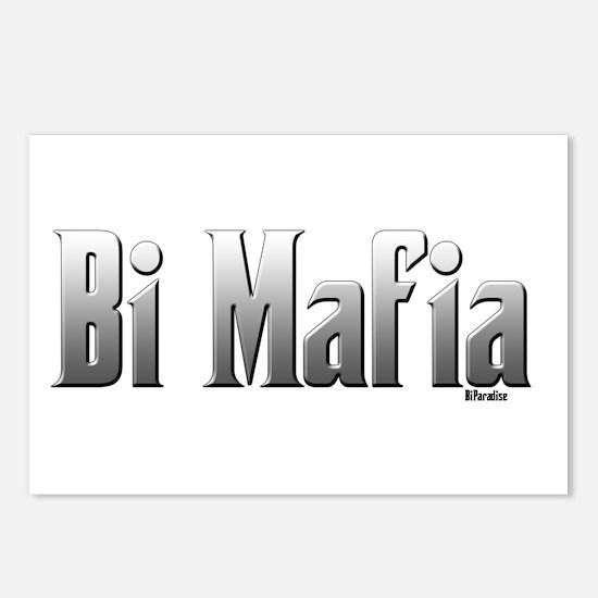 Bi Mafia Postcards (Package of 8)