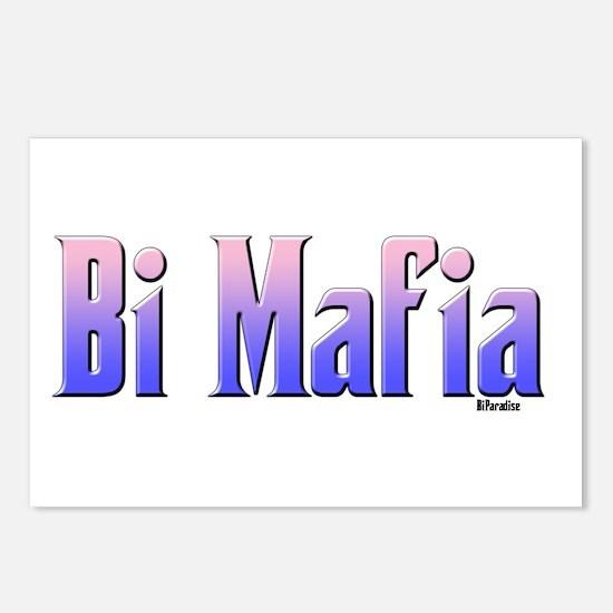 Bi Mafia Bi Colors Postcards (Package of 8)