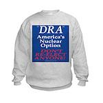 Nuclear Option Kids Sweatshirt