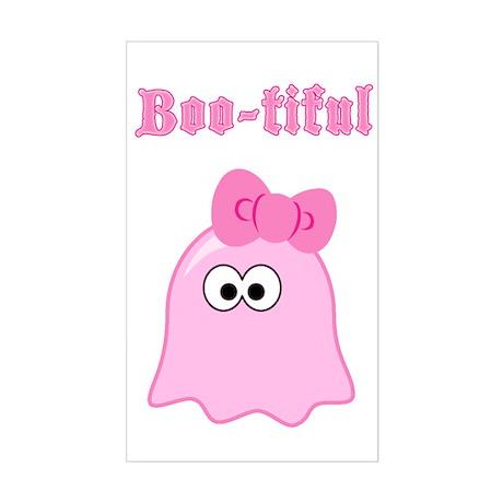 Boo-tiful Rectangle Sticker