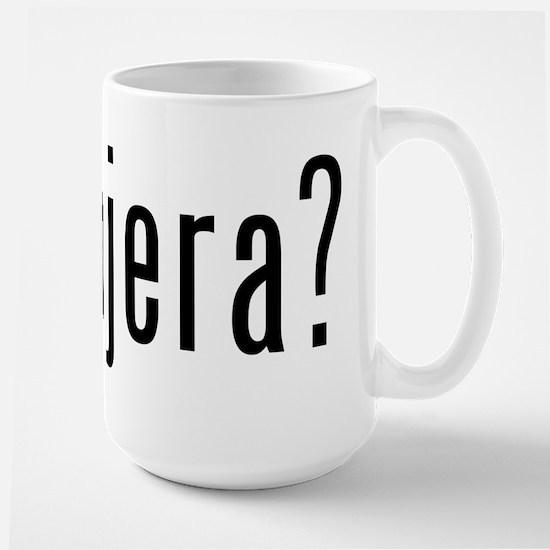 got injera? Large Mug